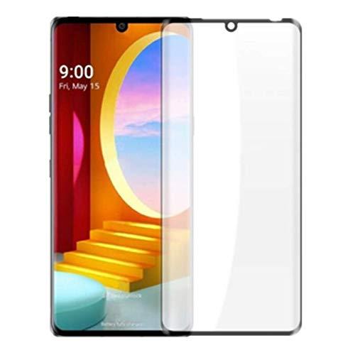 Displayschutzfolie für LG Velvet – [2 Stück] 3D Curved Full Coverage Screen Tempered Glass Anti-Scratch 9H Schutzglas für LG Velvet/LG G9
