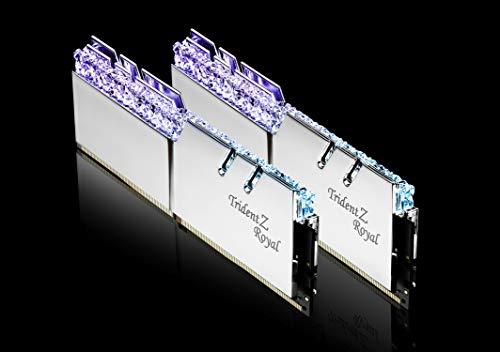 G.Skill Trident Z Royal F4-3600C16D-16GTRS - Modulo di memoria DDR4, 16 GB, 3600 MHz, 16 GB 2 x 8 GB DDR4 3600 MHz DIMM a 288 pin)