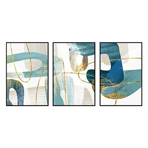 NYKK Carteles de decoración Extracto Moderno de la Sala de Pintura Decorativa Pintura de la Pared Fondo Sofá Arte de Pared (Color : C, Size : 50 * 70)