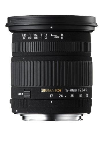 Lente Macro Sigma 17-70mm f/2.8-4.5 DC para Canon
