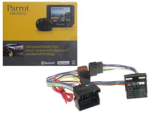 Set Parrot MKi9200 Bluetooth Freisprechanlage für Audi/Seat/Skoda/VW (Quadlock) FSE Adapter