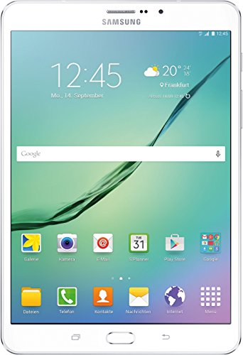Samsung Galaxy Tab S2 - Tablet de 8' (32 GB, 3 GB RAM, Android Lollipop), blanco [Importado de Alemania]