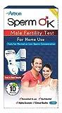 SpermOK™ #1 Test de fertilité masculine à usage domestique, approuvé CE, spermcheck facile, indique une analyse de sperme privée normale ou faible pour les hommes