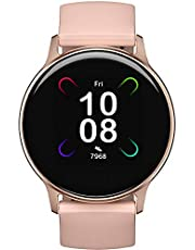 Smart Watch UMIDIGI Uwatch 3S, Fitness Tracker with Blood Oxygen Monitor and Heart Rate Monitor for Women Men. 5ATM Waterproof Activity Tracker with Compass for iPhone and Android.