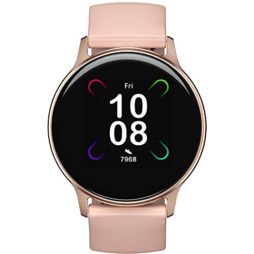 Smartwatch Donna, UMIDIGI Uwatch 3S Orologio Fitness Tracker Smart Watch con Monitor dell'ossigeno nel Sangue(SpO2), Impermeabile 5ATM, Cardiofrequenzimetro da Polso Activity Tracker per Android iOS