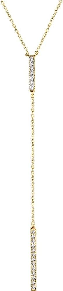 Gold 1/5 Ctw Diamond Bar