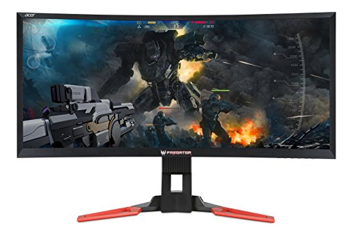 Acer Predator Z35 35-inch Curved Full HD (2560 x 1080) NVIDIA G-Sync Display, 144Hz, 2x9w speakers, HDMI & DP