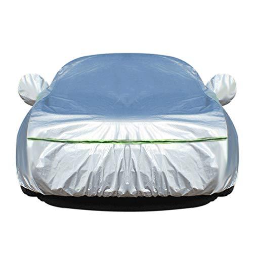 PKMMQ Car-Cover Kompatibel mit Lotus Elise Evora Evora 400 Evora GT Exige S Allwetterwasserdichten Outdoor-Universal-Breathable Sun Protected UV-Schutz (Color : Silver, Size : Evora 400)