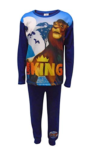 El Pijama para niños King del Rey León 7-8 años