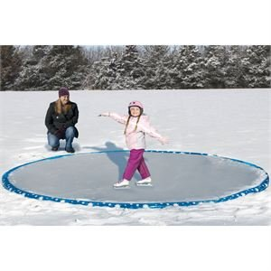 Revel Match LLC Inflatable 12' Ice Skating Rink