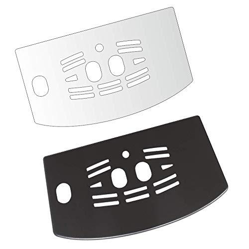 3 x Schutzfolie für DeLonghi ECAM 23.210-23.216 - 23.420-23.426 - 23.427-24.210 Abtropfblech - Tassenablage - Abstellblech