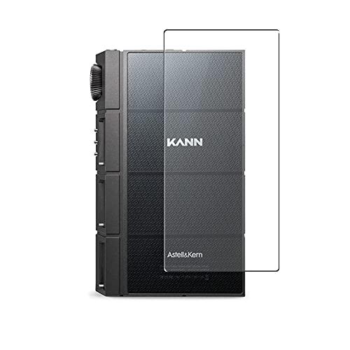 Vaxson 2 Unidades Protector de pantalla Posterior, compatible con iriver Astell & Kern KANN CUBE [No Vidrio Templado] TPU Película Protectora Espalda Skin Cover