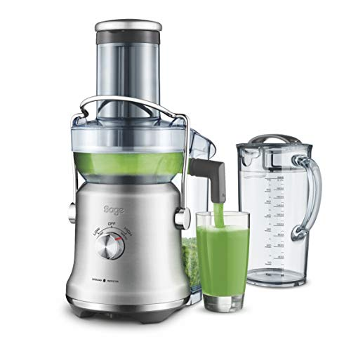 Sage Appliances SAGE SJE530 the Nutri Juicer Cold Plus, Entsafter, Gebürstetes Edelstahl