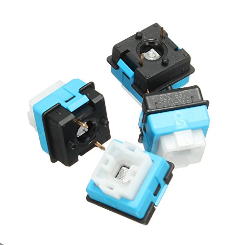 ILS. - 4 Pieces B3K-T13L Romer G Keyboard Switches for Logitech G310 G810 G910 RGB