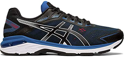 ASICS Men's GT-2000 7 Running Shoes, 11M, Black/Black