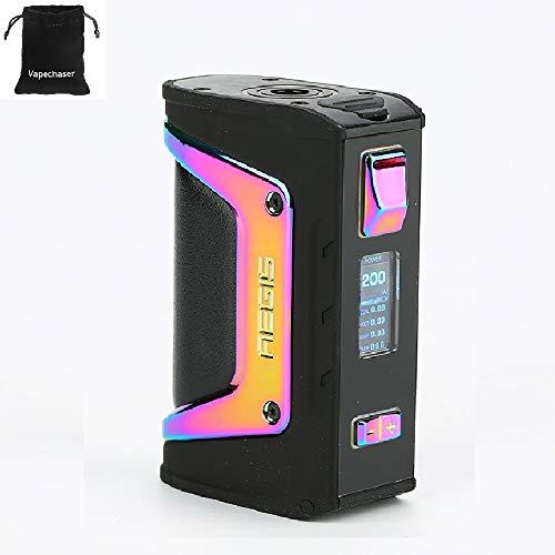 Cigarrillo electrónico GeekVape Aegis Legend 200W TC Box MOD Nuevo conjunto de chips AS Sin batería Aegis Legend MOD, No líquido, No contiene nicotina