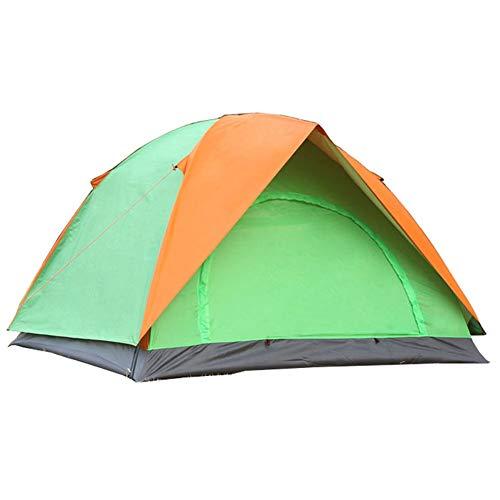 ZCY 3 personen Outdoor Camping Tent, regendichte dubbele laag Tent voor Protable Backpacking gemakkelijk reizen