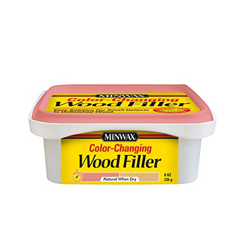 Minwax 448700000 Color Changing Wood Filler, 8 oz