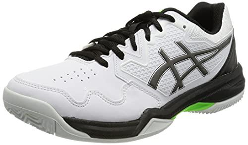 ASICS Gel-Dedicate 7 Clay, Zapatillas de Tenis Hombre, Color Blanco, 44 EU