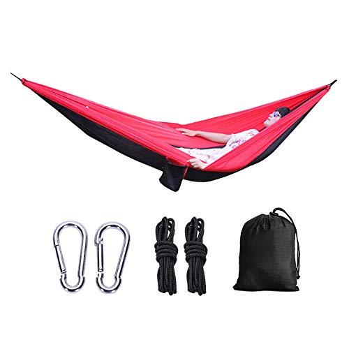 BASA Hamaca para Exteriores, tamaño 220 * 90 cm, Carga 200 kg, Adecuada para Senderismo y Viajes al Aire Libre