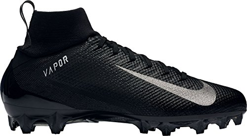 Nike New Mens Vapor Untouchable Pro 3 Football Cleats Black/White Size 10.5 M