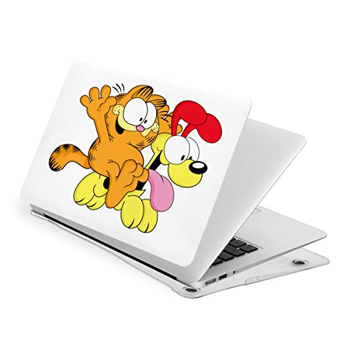 Garfield Laptop Case MacBook Non-Slip Durable Waterproof Plastic Hard Shell Case,for MacBook New Air 13/Air 13/15 Inch/Touch 13/15inch PVC Laptop Protective Cover New air13