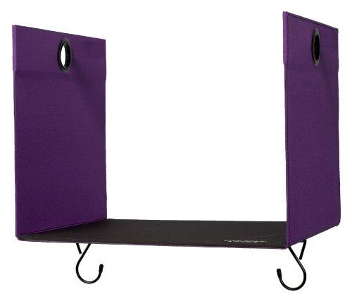 "Five Star Locker Accessories, Locker Shelf Extender, Holds up to 100 Lbs. Fits 12"" Width Lockers, Purple (72244)"