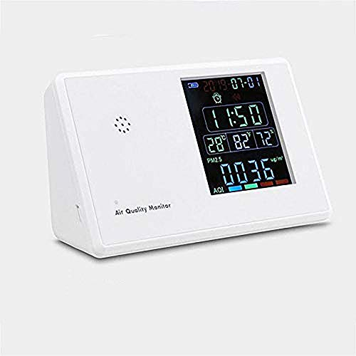 Luft Verschmutzung Monitor 5 In 1 Multi-Funktion Laser Sensor Smart Kalibrierung Pm 2,5 Pm10 Pm 1,0 Air QualitäT Monitor Gas Analyzer