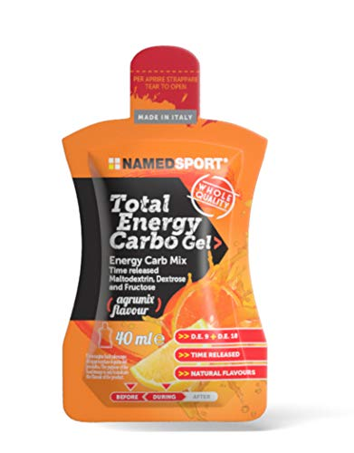 Total Energy Carbo Gel box da 24 gel da 40 ml gusto Agrumix