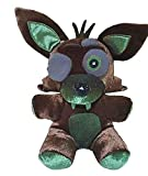 FNAF Plushies - All Characters(7') - -- Five Nights Freddy's Plush: Chica, Springtrap, Bonnie, Marionette, Foxy Plush - Freddy Plush-FNAF Plush-Kid's Toy-Stuffed Animal (Phantom Foxy)