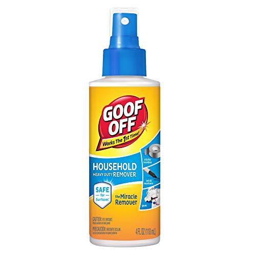 Goof Off FG705 Heavy Duty Remover Pump Spray, 4-Ounce