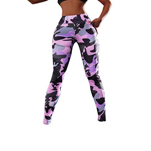 Janly Sports & Outdoors - Conjunto de Yoga y Sujetador y Pantalones elásticos para Correr, Fitness, Comprar Ahora, Rosa, Medium