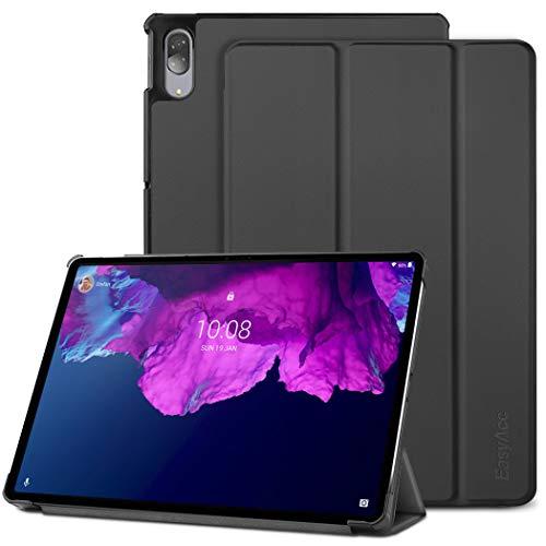 EasyAcc Hülle Kompatibel mit Lenovo Lenovo Tab P11 Pro 11.5 Zoll, Ultra Dünn Case mit Standfunktion Auto Sleep Wake Up Funktion Slim Schutzhülle, Schwarz