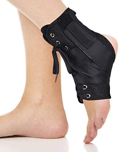 Dr Welland Ankle Stabilizer Foot Immobilizer Lace Up Ankle Support Brace Sports Injuries Sprains product image