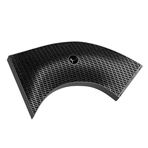 Filter Ersatz für Whirlpool 484000008582 für Dunstabzugshaube Aktivkohlefilter Ersatzfilter für Bosch Siemens 00647278 265x150mm Kohlefilter für Haube