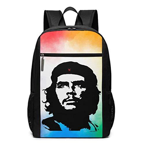 huatongxin Che Guevara Alberto Korda Image Zaino a spalla Bag Daypack Bookbag 17 in