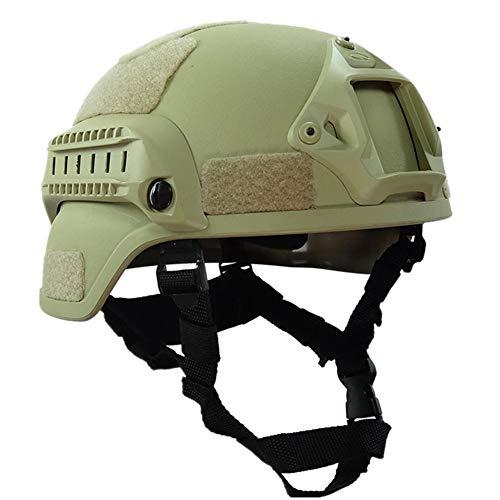 Militärischer taktischer Helm, Reithelm, Paintball-Kopfschutz, verstellbare Stoßdämpfung, Schwamm-Kunststoff, Fahrradhelme