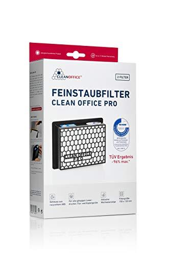 Clean Office PRO Drucker Feinstaubfilter 150x120x50mm 2er