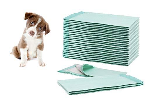ConsuMed 100x Welpenunterlage Hygieneunterlagen 60 x 90 cm ulta saugfähige Trainingsunterlagen für Welpen Katzen Hunde Haustiere Toilettenmatte