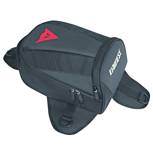 Dainese-D-TANKER MOTORCYCLE MINI BAG, Stealth-Noir, Taille N