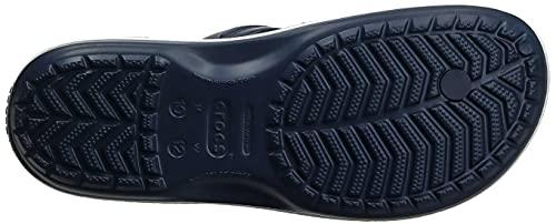 Crocs Crocband Flip, Unisex Zehentrenner, Blau - 10