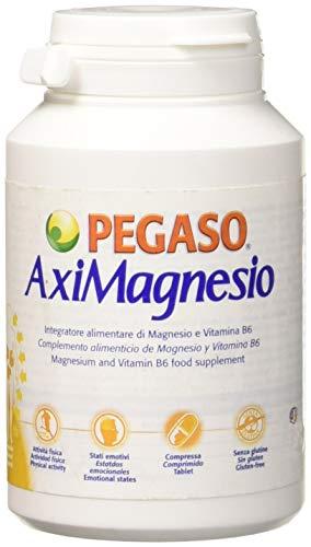 Pegaso Aximagnesio Integratore Alimentare di Magnesio - 100 Compresse, 133.9 g
