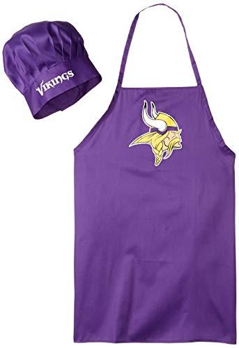 Price comparison product image NFL Minnesota Vikings Chef Hat and Apron Set,  Purple