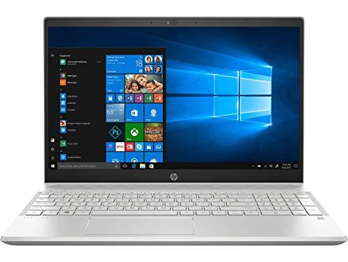 HP Pavilion 15-CS2096TX 15.6-inch Laptop (8th Gen Core i7-8565U/8GB/1TB HDD + 256GB SSD/Windows 10, Home/4GB NVIDIA GeForce MX250 Graphics), Mineral Silver