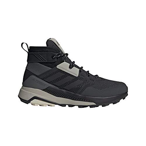 adidas Terrex Trailmaker Mid, Zapatillas de Hiking Hombre, NEGBÁS/NEGBÁS/ALUMIN, 44 2/3 EU