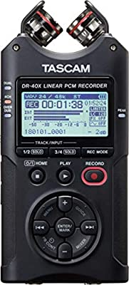 Tascam Digital Audio Recorder and USB Audio Interface