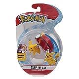Giochi Preziosi Pokemon - Pokémon Clip'n Go con Personaje Pikachu y Repeat Ball
