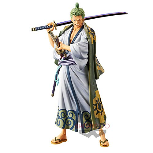 Banpresto. One Piece Figure Roronoa Zoro DXF Figure The Grandline Men Wano Country Vol.2
