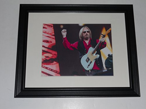 """Large Framed Tom Petty 2017 40th Anniversary Tour Print Poster 24"""" by 20"""" #2"""