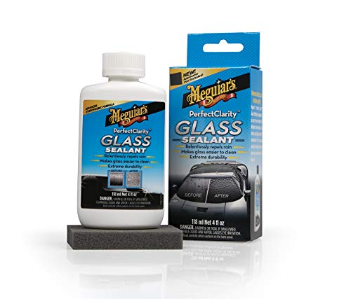 Meguiar's G8504EU Perfect Clarity Glass Sealant Glasversiegelung, 118 ml